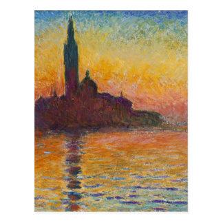 Claude Monet - San Giorgio Maggiore an der Postkarte