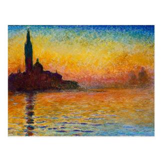 Claude Monet-San Giorgio Maggiore an der Postkarte