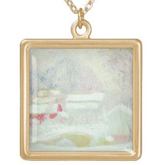Claude Monet | Sandviken, Norwegen Vergoldete Kette