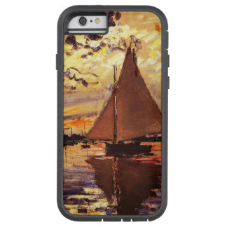 Claude Monet-Segelboot bei Le Klein-Gennevilliers Tough Xtreme iPhone 6 Hülle