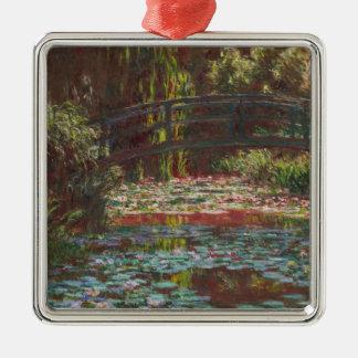 Claude Monet Silbernes Ornament