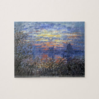 Claude Monet - Sonnenuntergang auf dem die