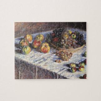 Claude Monet-Stillleben mit Äpfeln und Trauben