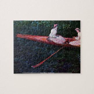 Claude Monet - Sturm im Seepuzzlespiel