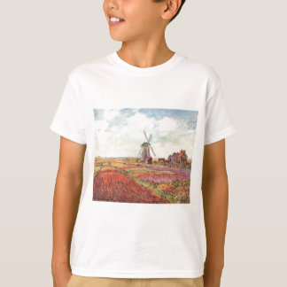 Claude Monet-Tulpen in Holland T-Shirt