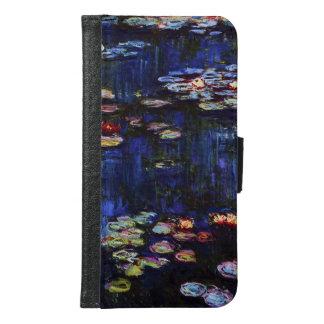 Claude Monet-Wasser-Lilien Geldbeutel Hülle Für Das Samsung Galaxy S6