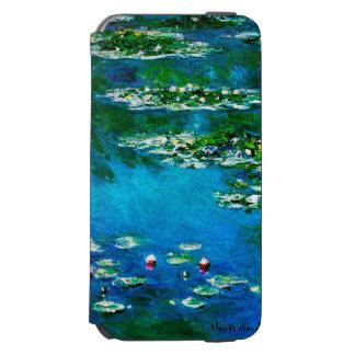 Claude Monet-Wasser-Lilien Incipio Watson™ iPhone 6 Geldbörsen Hülle