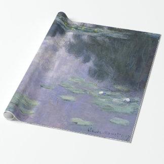 Claude Monet-Wasser-Lilien Nymphéas 1907 GalleryHD Geschenkpapier