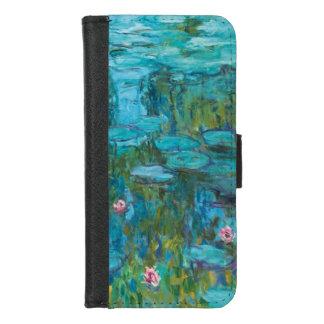 Claude Monet-Wasser-Lilien Nymphéas GalleryHD iPhone 8/7 Geldbeutel-Hülle