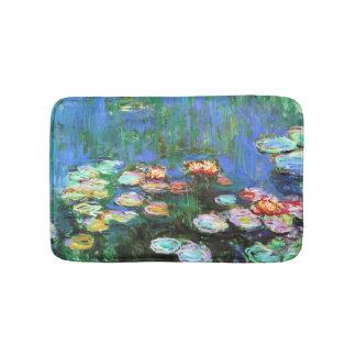 Claude Monet-Wasser-Lilien-Teich Badematte