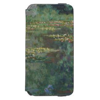 Claude Monet-Wasser-Lilien-Teich-schöne Kunst Incipio Watson™ iPhone 6 Geldbörsen Hülle