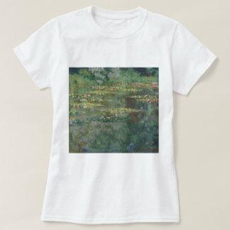Claude Monet-Wasser-Lilien-Teich-schöne Kunst T-Shirt