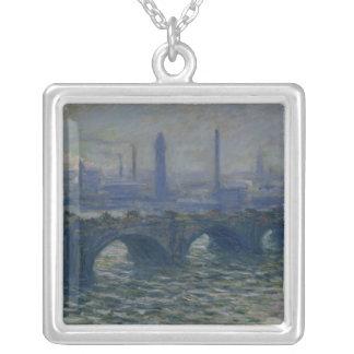 Claude Monet | Waterloo Bridge, 1902 Versilberte Kette