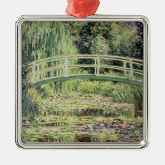 Claude Monet   weißer Nenuphars, 1899 Silbernes Ornament