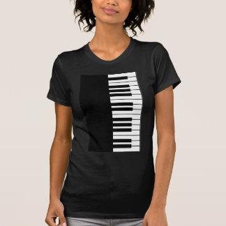 Clé de piano t-shirt