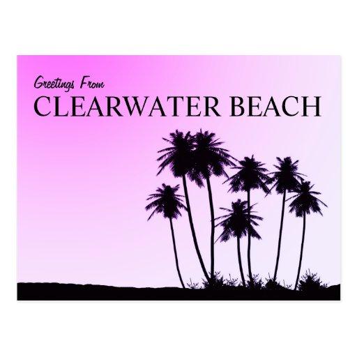Clearwater Strandpostkarte Postkarte