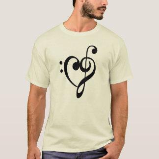 CLEF-MUSIK-HERZ T-Shirt