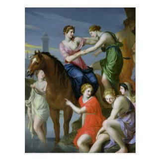 Clelia, welches das Tiber kreuzt Postkarte