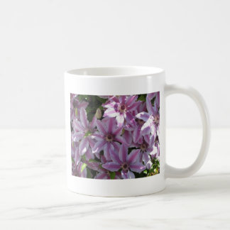 Clematis-Blumen Kaffeetasse