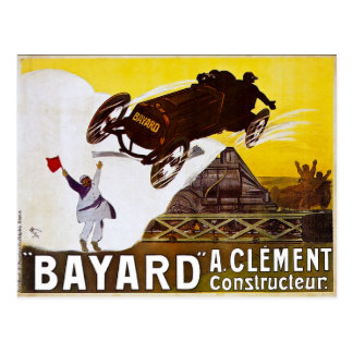 Clément-Bayard Vintage Anzeige Postkarten