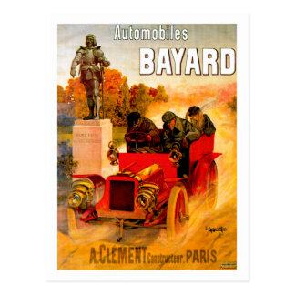 Clément-Bayard ~ Vintage Automobil-Anzeige Postkarte