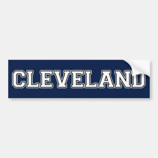 Cleveland Ohio Autoaufkleber