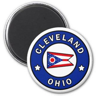 Cleveland Ohio Runder Magnet 5,1 Cm