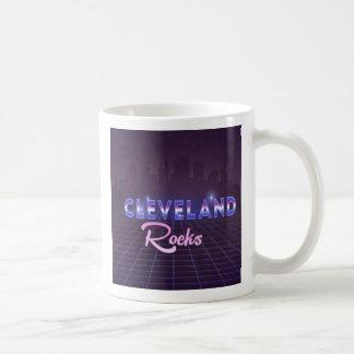 Cleveland schaukelt Achtzigerjahre Kaffeetasse