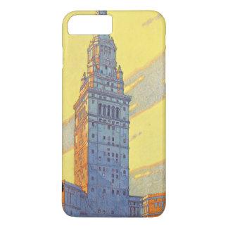 Cleveland-Stadt Ohio der neue iPhone 8 Plus/7 Plus Hülle