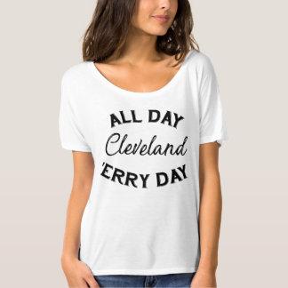 Clevelands Tag den ganzen Tag 'Erry T-Shirt