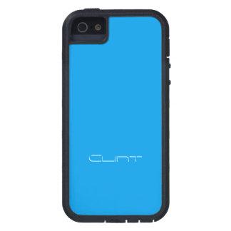 Clint starke Xtreme Smartphone Abdeckung im Blau Schutzhülle Fürs iPhone 5