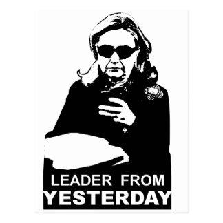 Clinton: Führer von gestern Postkarten