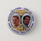 Clinton-Gore '93 Einweihung jugate - Knopf Runder Button 5,1 Cm
