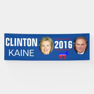 CLINTON KAINE 2016 BANNER