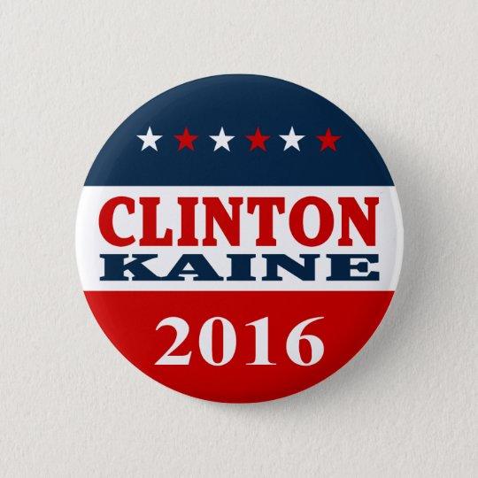 Clinton Kaine 2906 Runder Button 5,7 Cm