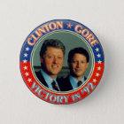 Clinton und Gore '92 jugate Runder Button 5,1 Cm