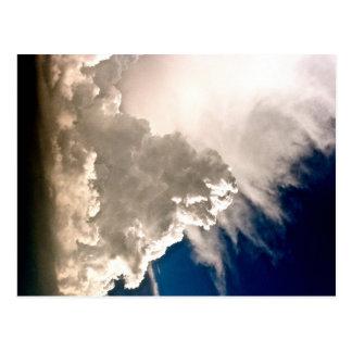 """""""Cloudburst """" Postkarte"""