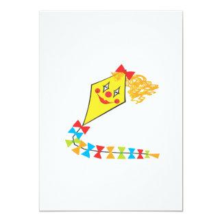 Clown-Drachen 12,7 X 17,8 Cm Einladungskarte