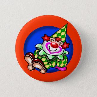 Clown-Knöpfe Runder Button 5,7 Cm
