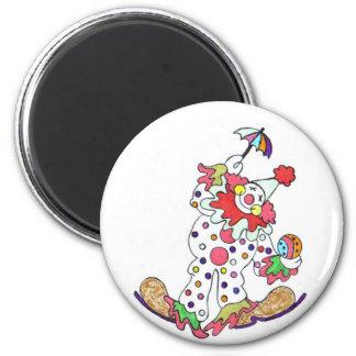 Clown-Magnet Runder Magnet 5,1 Cm