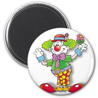 Clown Runder Magnet 5,1 Cm