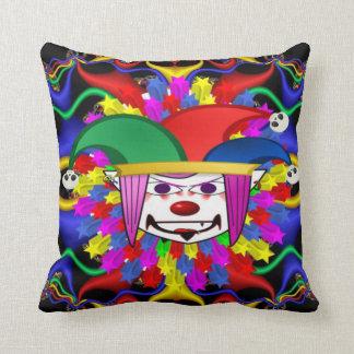 Clown-Wurfskissen Kissen