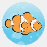 Clownfish Adhésifs Ronds