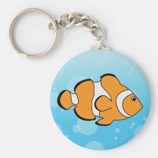 Clownfish Porte-clé Rond