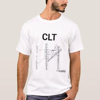 CLT Flughafen-Plan-T - Shirt