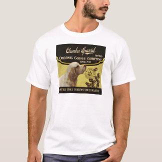 Clumber Spaniel - Organic Coffee Company T-Shirt