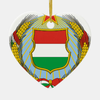Coa_Hungary_Country_History_ (1957-1990) Keramik Ornament