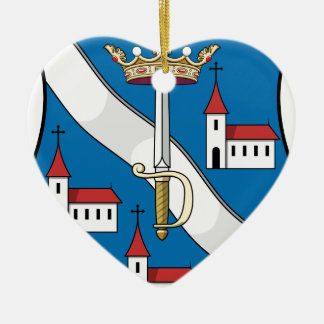 Coa_Hungary_County_Bars_ (Geschichte) Keramik Ornament