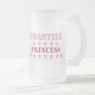 Coasties Prinzessin Mattglas Bierglas