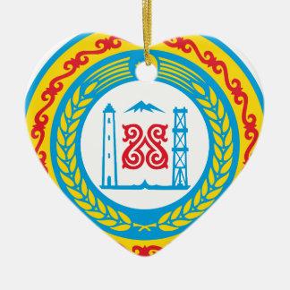 Coat_of_arms_of_Chechnya Keramik Herz-Ornament